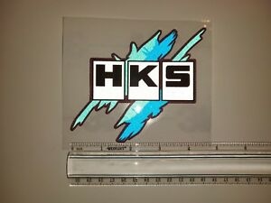 Jdm Reflective Decal Sticker Hks Vintage Racing Japan Drift Us Seller