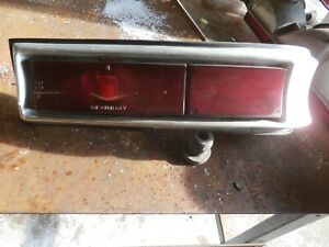 Mopar 1963 Plymouth Valiant Complete Right Tail Light Nice Used No Dents