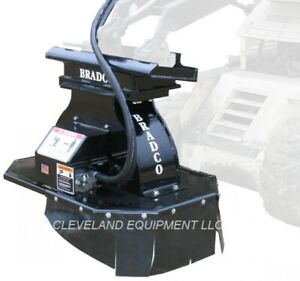 New Bradco Sg15 Mini Stump Grinder Attachment Bobcat Mt55 Mt85 Skid Steer Loader