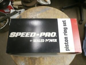 Speed Pro Chevy 350 Ford 302 Dodge 360 Piston Rings 4 06 Bore R9342 65 Free Ship