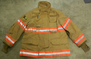 Janesville Lion Turnout Firefighters Bunker Coat Liner 44x32 2006 No Cut Out