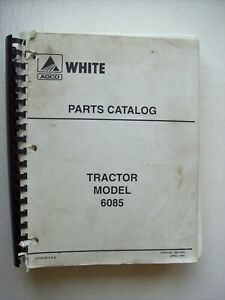 Original White Tractor Model 6085 Parts Catalog Manual