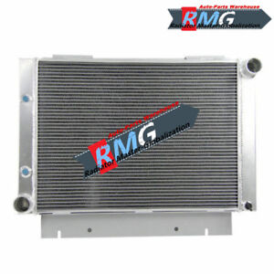 Aluminum Radiator For 1960 1963 Ford Galaxie 500xl Galaxie Base 1961 1962 V8