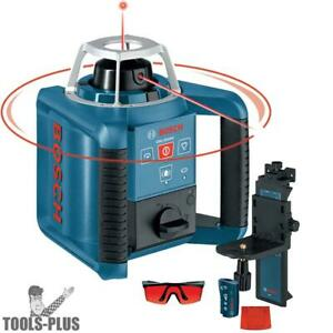 Bosch Grl300hv Self leveling Rotary Laser With Layout Beam New