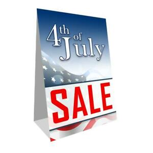 Fourth Of July Sale Economy A frame Sign