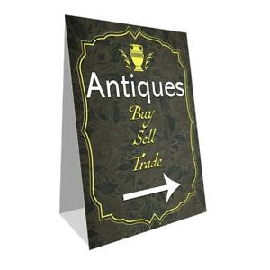 Antiques Economy A frame Sign