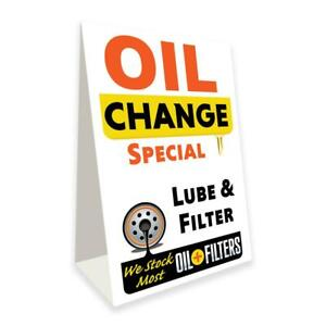 Oil Change Special Economy A frame Sign