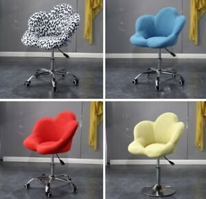 Office Chair Furniture Fabric Flower Style Swivel Lifting Computer Desk Chair