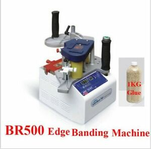 Br500 Le matic Portable Manual Curve Woodworking Edge Banding Machine Bander T