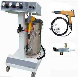 Electrostatic Powder Coating Spray Gun spray Machine paint System T