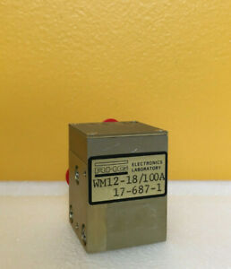Rhg Wm12 18 100a 12 To 18 Ghz Waveguide Mixer Preamplifier New