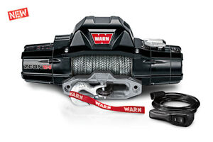 Warn Industries Zeon 12 S 12000lb Winch W Synthetic Rope