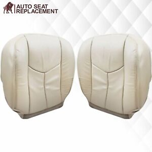 2003 2004 2005 2006 Cadillac Escalade Leather Seat Covers In Tan