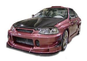 Duraflex Buddy Front Bumper Cover 1 Piece For 1996 1998 Civic