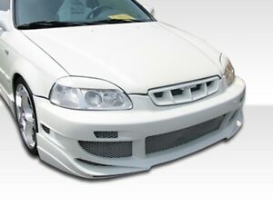 Duraflex Avg Front Bumper Cover 1 Piece For 1996 1998 Civic