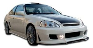 Duraflex B 2 Body Kit 4 Piece For 1996 1998 Civic 2dr 4dr
