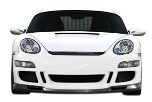 Duraflex Gt3 Rs Look Front Bumper For 06 08 Cayman 06 08 Boxster