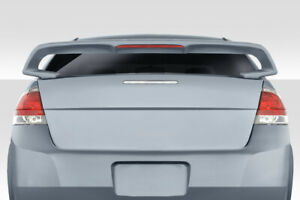 For 2008 2011 Ford Focus 4dr Duraflex Rally Sport Wing Spoiler 1 Piece