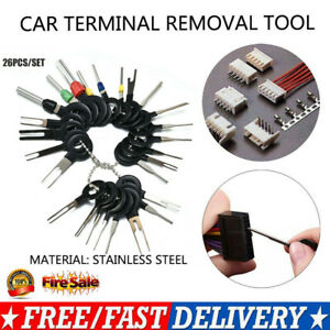 26pin Kit Sets Wire Terminal Removal Tool Car Electrical Wiring Crimp Connector
