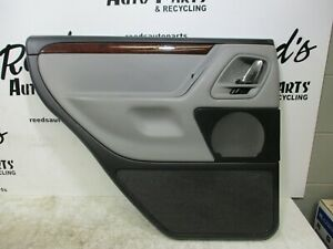2001 2002 2003 2004 Jeep Grand Cherokee Overland Rear Driver Door Panel