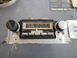 78 1978 Oldsmobile Delta 88 98 Am Fm Stereo With 8 Track