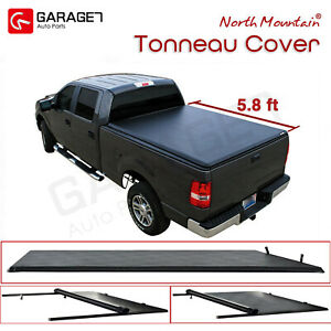 Soft Vinyl Roll up Tonneau Cover Fit 2007 2013 Silverado sierra 1500 5 8 Bed