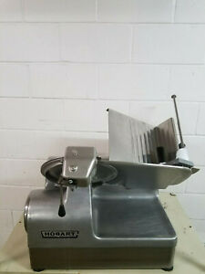 Hobart 1712e Automatic Commercail Meat Slicer W sharpener 115volts 1phase Tested
