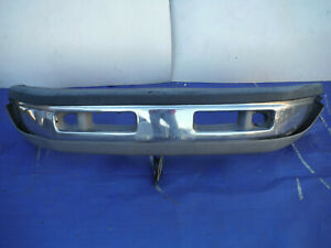 94 95 96 97 98 99 00 01 1999 2000 2001 Dodge Ram Front Bumper Cover Chrome Oem