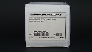 Faraday 2705bl1424dc 500 696658fa Weatherproof Stand Alone Strobe 20 31vdc Red
