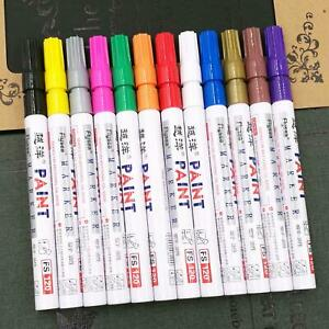 Car Tyre Tire Paint Marker Pen Touch Up Graffiti Office Stationery Painting Fill