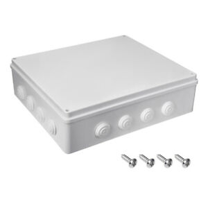 400mmx350mmx120mm Dustproof Ip65 Junction Box Electric Project Enclosure