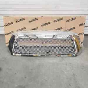 Fits Toyota Tundra 2007 2009 Stainless Steel Mesh Grill Shell Replacement Chrome