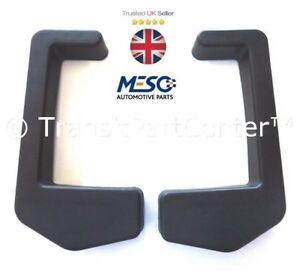 A Pair Rear Bumper End Cap Corner Fits For Ford Transit 2000 2014 Pick Up