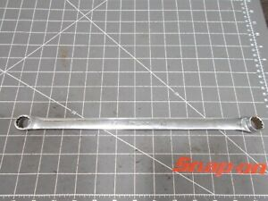 Snap On Long High Performance Double Box Wrench 15mm 16mm Xdhm1516 Boxed 12pt