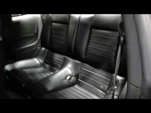 Rear Seat Coupe Black Leather Gt Fits 2007 Mustang 652856