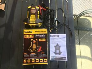 Stanley Bc6809 6 8 Amp Automatic Battery Charger