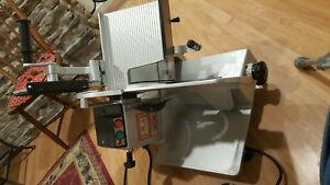 Bizerba Se8 Commercial Heavy Duty Manual Meat Cheese Deli Slicer 120v 1 Phase