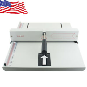 Manual Paper Creaser Creasing Machine 350mm A4 Card Covers High Gloss Covers Us