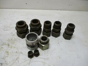 New 9 Eaton Weatherhead Misc Hydraulic Fittings