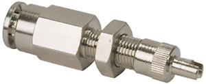Viair 11492 Inflation Valve For 1 4 Air Line Dot Approved Ptc Style Nickel 4