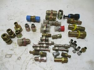New 40 Eaton Weatherhead Misc Hydraulic Assorted Fittings