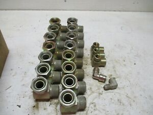 New 20 Eaton Weatherhead Misc Hydraulic Assorted Elbow Fittings