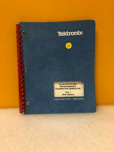 Tektronix Cg 551 Ap cg 5001 Instruction Manual