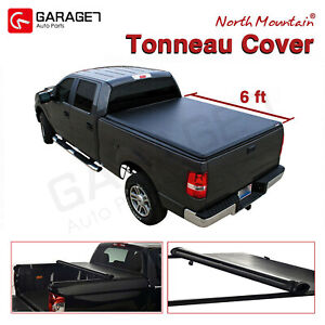 6 Fleetside Bed Cover Soft Roll Up Tonneau Cover Assembly Fit 2016 2019 Tacoma