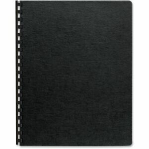 Fellowes Linen Presentation Covers Oversize Black 200 Pack 52115