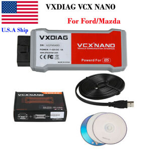 Usa Ship New Vxdiag Vcx Nano 2 In 1 With Ids V109 Perfect Replacement For Vcm 2