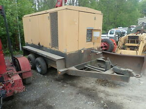 Atlas Copco Xams355 Air Compressor Cummins Video 750 Cfm 125 Psi Trailer