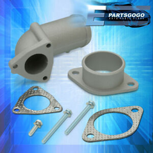 For T25 T28 Turbocharger Inlet outlet J pipe Elbow Adapter Piping Adapter Kit