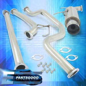 For 90 93 Acura Integra N1 2 5 Racing Catback Muffler Exhaust System 4 5 Tip