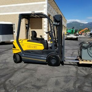 2010 Miretti gregory Explosion Proof Electric Forklift W Charger